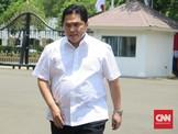 Erick Thohir dan Wishnutama Datangi Istana