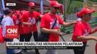 VIDEO: Relawan Disabilitas Meriahkan Pelantikan Presiden