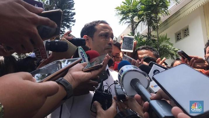 Nadiem Makarim menjadi menterinya Presiden Joko Widodo (Jokowi).