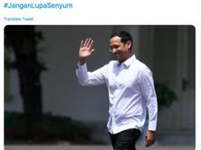 Driver Online Dukung Nadiem Makarim Jadi Menteri Jokowi
