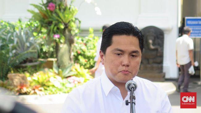 Erick Thohir Sindir Garuda Indonesia Soal Anak Usaha