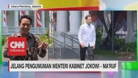 VIDEO: Nadiem Makarim Tiba di Istana Jelang Menteri Diumumkan