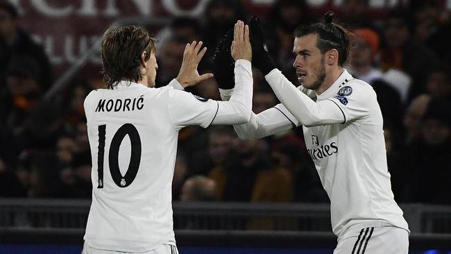 Madrid Tak Bisa Mainkan Bale dan Modric di Liga Champions