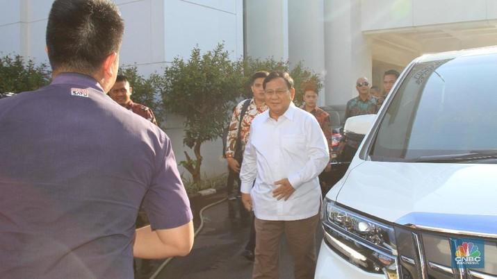 Prabowo yang juga merupakan Ketua Umum Partai Gerakan Indonesia Raya (Gerindra) dikabarkan akan mengisi posisi sebagai Menteri Pertahanan.