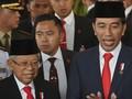 Ma'ruf soal Kabinet: Saya dan Pak Jokowi Juga Tidak Puas