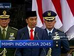 Ini Mimpi Jokowi untuk Indonesia di 2045