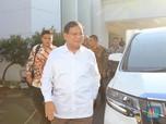 Berkemeja Putih, Prabowo dan Edhy Sambangi Istana Negara
