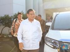 Prabowo Jadi Menhan: Kemenhan Kementerin Anggaran Terbesar