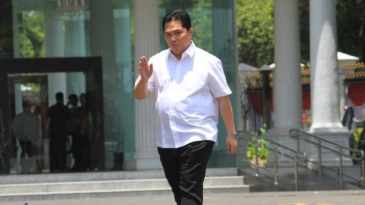 Erick Thohir menjadi menteri BUMN periode 2019-2024