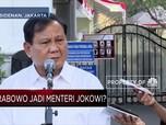 Prabowo Hadir di Istana, Jadi Menteri Pertahanan ?