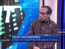 Streaming: Bos INKA Beberkan Bisnis KA & Harapan untuk Jokowi