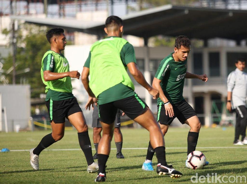 Intip Latihan Keras Timnas U-23 Jelang SEA Games 2019