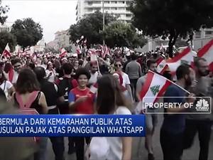 Pajak Whatsapp Berujung Protes di Libanon