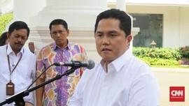 Cerai dari Sriwijaya, Erick Minta Garuda Fokus ke Anak Usaha
