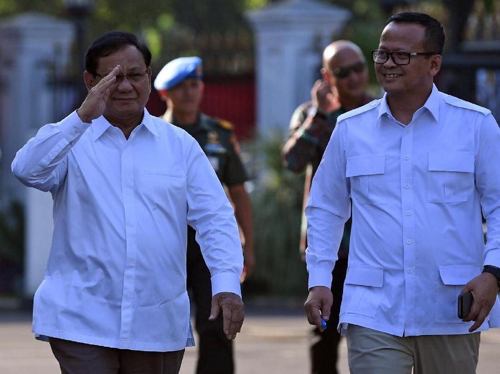 Prabowo mengatakan, sejak awal, Gerindra siap jika diminta membantu pemerintahan. Hari ini, Gerindra resmi menyatakan siap membantu pemerintah setelah diminta Jokowi secara resmi.