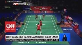 VIDEO: Indonesia Menjadi Juara Umum Denmark Open 2019