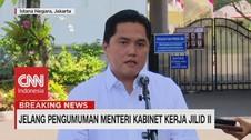 VIDEO: Ini Penjelasan Erick Thohir Usai Dipanggil Presiden