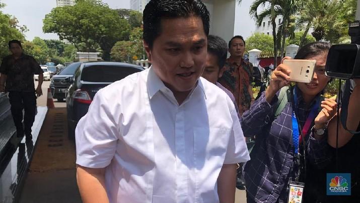 Erick Thohir (CNBC Indonesia/Chandra Gian Asmara)