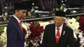 Jokowi Ingatkan Menteri Tak Ribut di Luar Rapat Istana