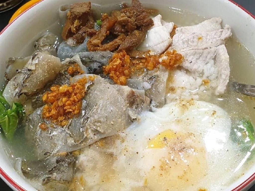 Tambah Stamina dengan Sarapan Bubur Ikan yang Gurih Segar
