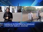 Suasana Istana Jelang Pengumumuman Kabinet Jokowi