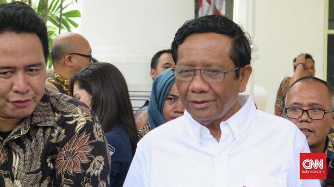 Mahfud Mundur dari Jabatan Penasihat Sultan HB X