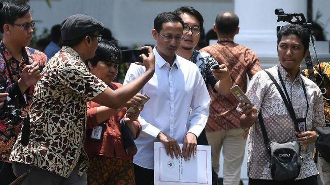 Grab Sambut Positif Penunjukan Nadiem Makarim Jadi Menteri