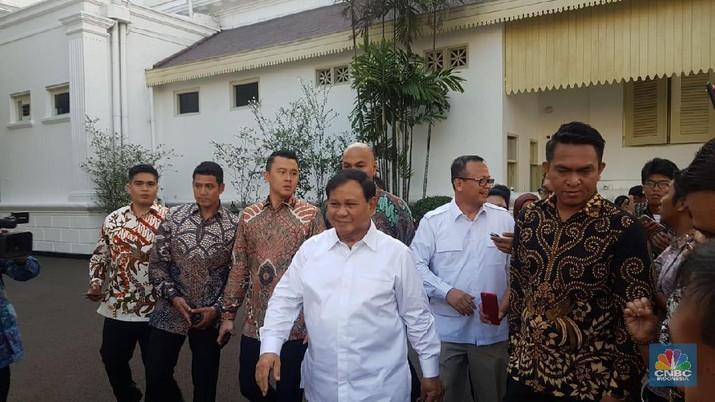 Ketua Umum Partai Gerindra Prabowo Subianto sudah bertemu dengan Presiden Joko Widodo (Jokowi).