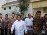 Ketemu Jokowi, Prabowo: Saya Diminta Bantu Urusan Pertahanan
