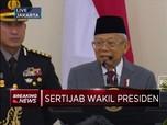 Sertijab Wakil Presiden JK Ke Ma'ruf Amin