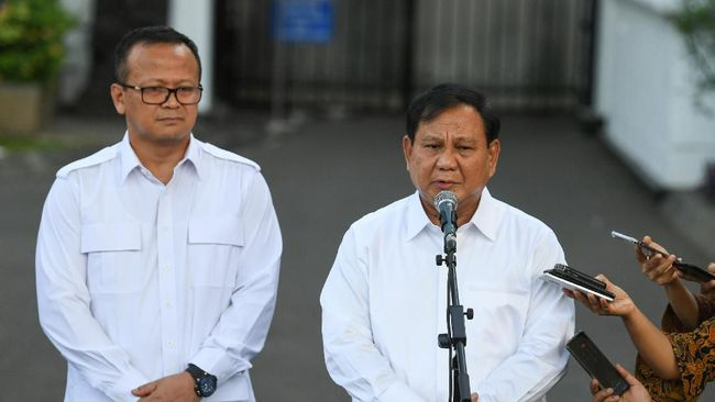 Prabowo Sebut Dua Kader Gerindra Jadi Menteri Jokowi