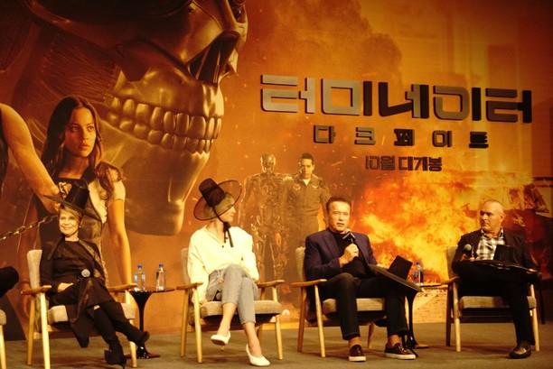 Premiere Terminator: Dark Fate di Seoul hingga Gista Putri