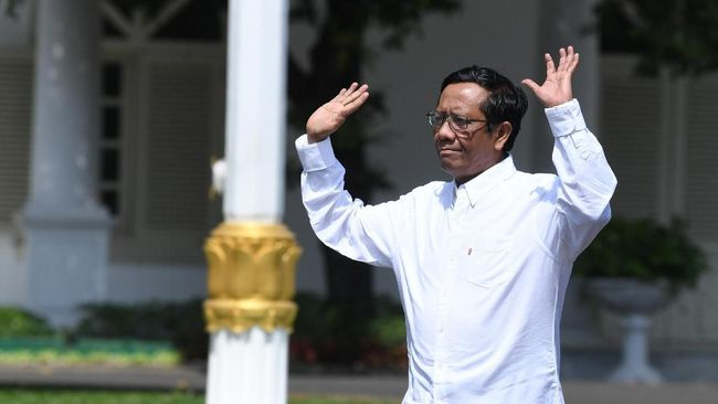 Mahfud Sebut Pemerintahan Jokowi Tak Ada Bukti Cekal Rizieq