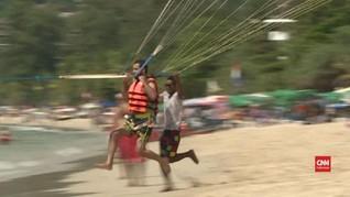 VIDEO: Wisatawan di Thailand Turun Drastis