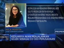 Nadiem Jadi Menteri, Pengendali Gojek Berpindah Tangan