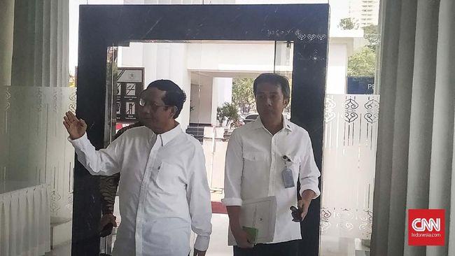 Mahfud MD Merapat ke Istana Jelang Pengumuman Menteri Jokowi