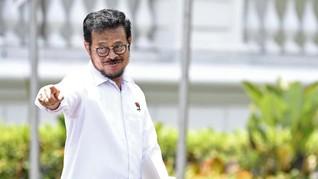 Jadi Mentan, Syahrul Yasin Limpo Punya Harta Rp18,9 Miliar