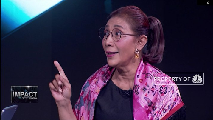 Susi Pudjiastuti: Kita Harus Sadar Ocean Rights (CNBC Indonesia TV)