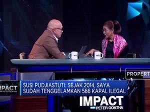 Alasan Susi Pudjiastuti Ngotot Tenggelamkan Kapal Ilegal