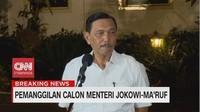 VIDEO: Luhut Binsar Merapat ke Istana