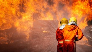 Kebakaran di Sebuku Diklaim Rugikan Puluhan Miliar Rupiah