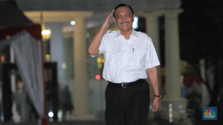 Luhut Binsar Pandjaitan, (CNBC Indonesia/Tri Susilo)