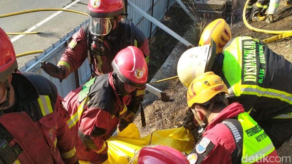 Pipa Pertamina Cimahi Meledak, Seorang WNA Pekerja Proyek Kereta Cepat Tewas