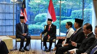 Bertemu Raja Malaysia, Ma'ruf Amin Titip TKI