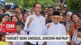 VIDEO: Target SDM Unggul Jokowi-Ma'ruf