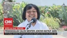 VIDEO: Siti Nurbaya Bakar Tetap Jadi Menteri LHK