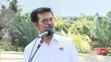 VIDEO: Yasin Limpo Bahas Pertanian Perkebunan dengan Presiden