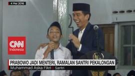 VIDEO: Prabowo Jadi Menteri, Ramalan Santri Pekalongan