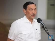 Jokowi Tunjuk Menko Luhut Jabat Menteri KKP Ad Interim