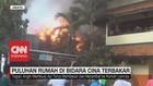 VIDEO: Puluhan Rumah di Bidara Cina Terbakar